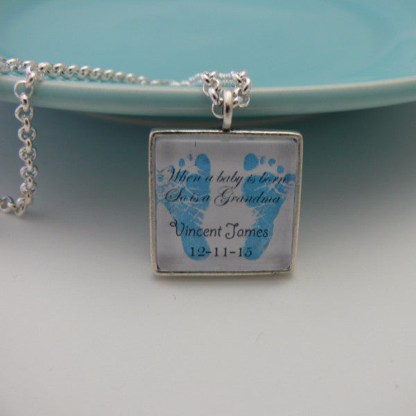 When A Baby Is Born Necklace