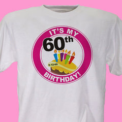 It's My Birthday Personalized Birthday T-Shirt