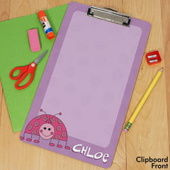 Personalized Girl and Boy Clipboards