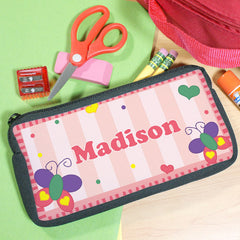 Girl's Personalized Pencil Case
