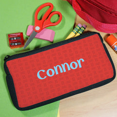 Boy's Personalized Pencil Case