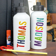 Boy's Personalized Water Bottle