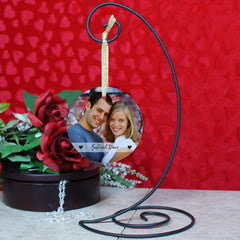Personalized Glass Photo Ornament