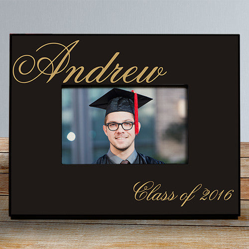 Personalized Class Of Graduation Printed Frame