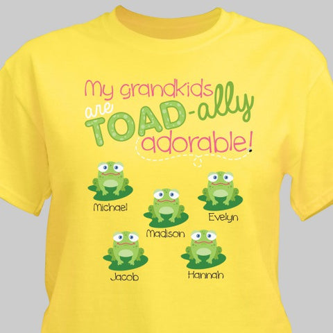 Personalized Grandkids T-shirt