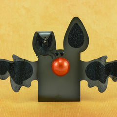 Personalized Halloween Bat Figurine