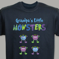 Personalized Little Monsters T-Shirt