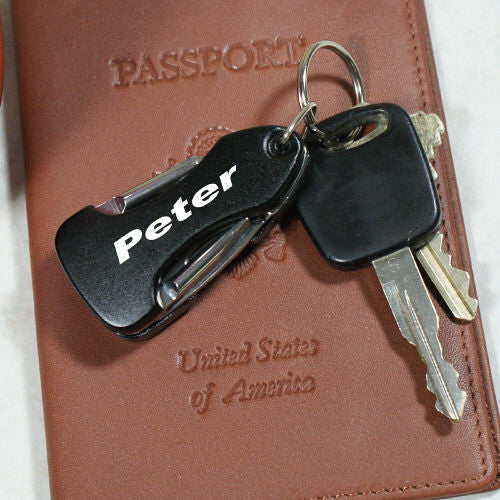 Personalized Name Multitool LED Key Chain