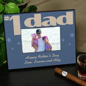 Personalized Number One Parent Printed Picture Frame