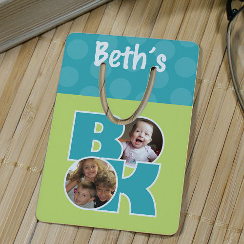Personalized Photo Collage Bookmark