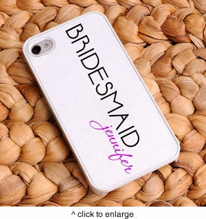 Personalized IPhone Bridesmaid Case