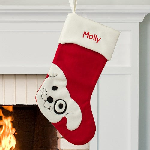 Personalized Pet Stocking - Cat or Dog