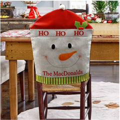 Personalized Holiday Chair Covers