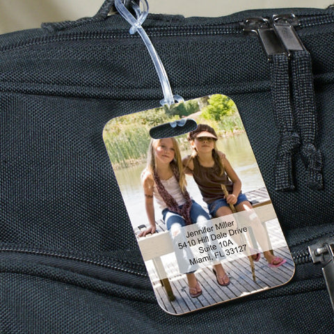 Picture Perfect Personalized Bag Tag