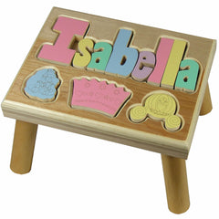 Personalized Themed Step Stool