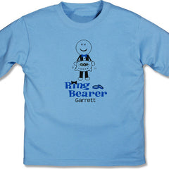 Ring Bearer Personalized Youth T-shirt