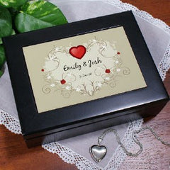 Treasure Heart Keepsake Box