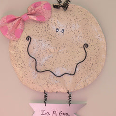 It's A Girl/Boy Wall hanger