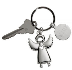 Personalized Angel Keychain