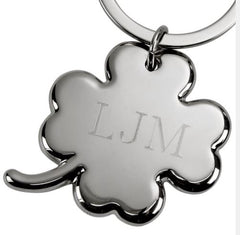 Personalized Clover Key chain