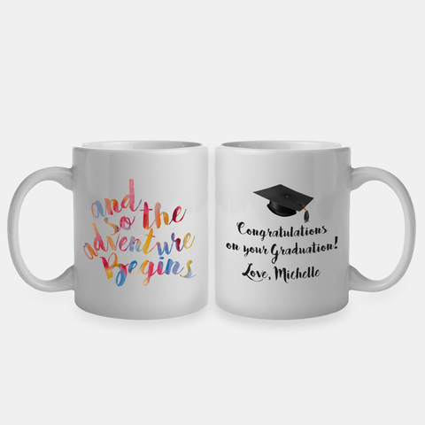 Congratulations On Your Graduation Custom Coffee Mug