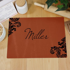 Personalized Family Welcome Cutting Board