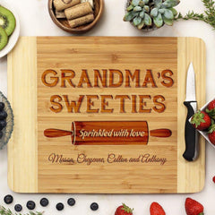 "Cutting Board ""Grandma's Sweeties"""
