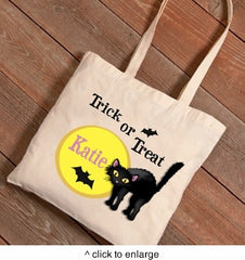 Halloween Trick-or-Treat Canvas Bag