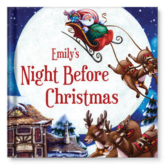 My Night Before Christmas Personalized Book