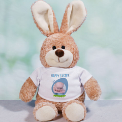 Personalized Photo Easter Bunny