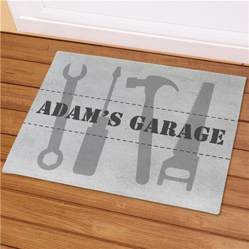 Personalized Tools Doormat