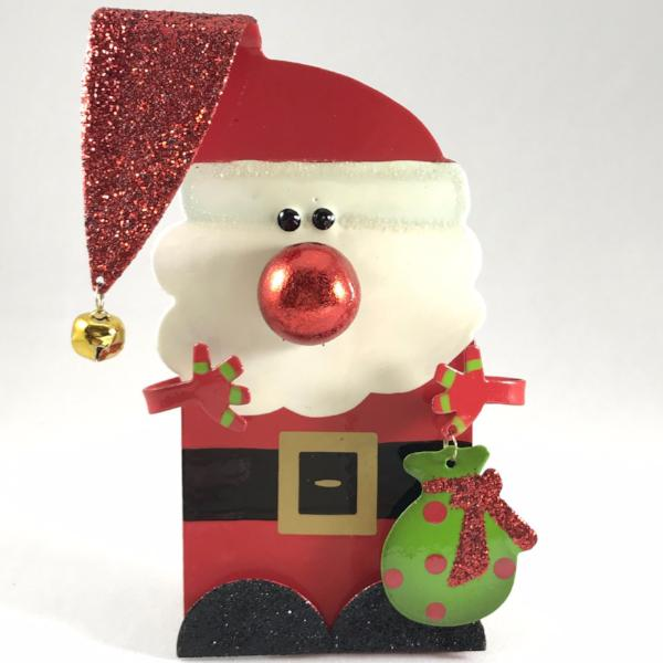 Personalized Christmas Santa Figurine