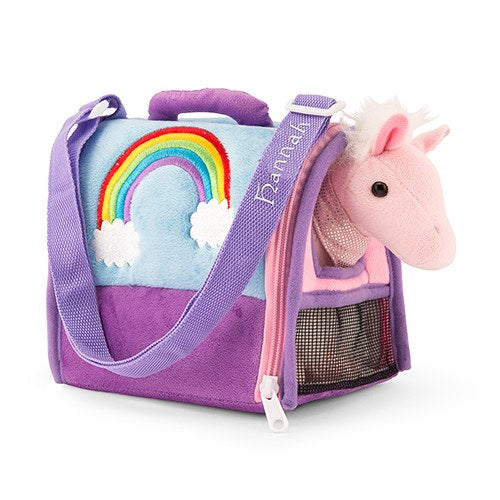 Personalized Plush Animal House Carrier