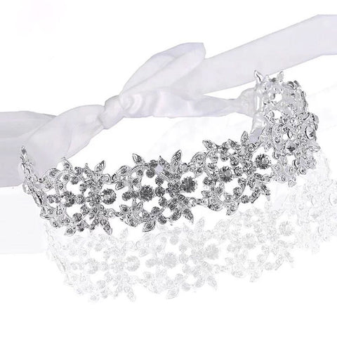 Diamond Link Hair Sash