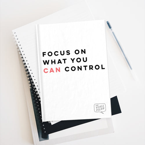 Focus On What You Can Control Journal