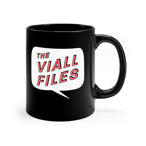 Viall Files Logo Black Mug