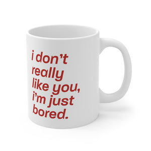 Just Bored Mug (White)