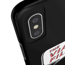 Load image into Gallery viewer, The Viall Files Logo Black Phone Case
