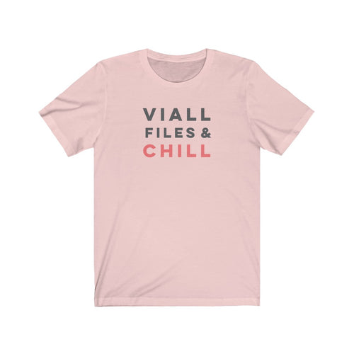 Viall Files & Chill Tee