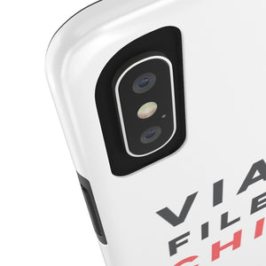 Viall Files & Chill Phone Case