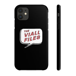 The Viall Files Logo Black Phone Case