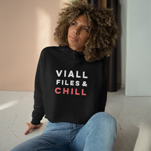 Load image into Gallery viewer, Viall Files and Chill Crop Hoodie
