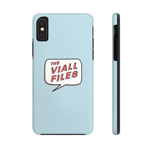 Classic Viall Files Blue Phone Case