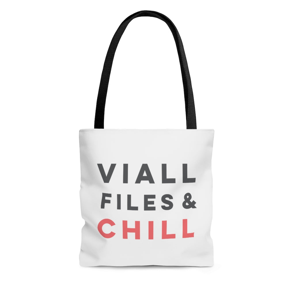 Viall Files & Chill Tote Bag
