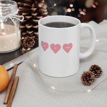 Load image into Gallery viewer, He is Toxic Hearts White Mug