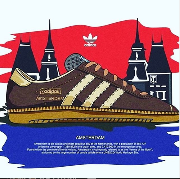 Adidas Amsterdam City Series 2020 Release