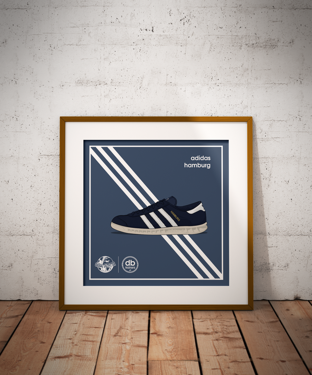 Adidas Inspired Hamburg Print | The Co x DB_Trainers