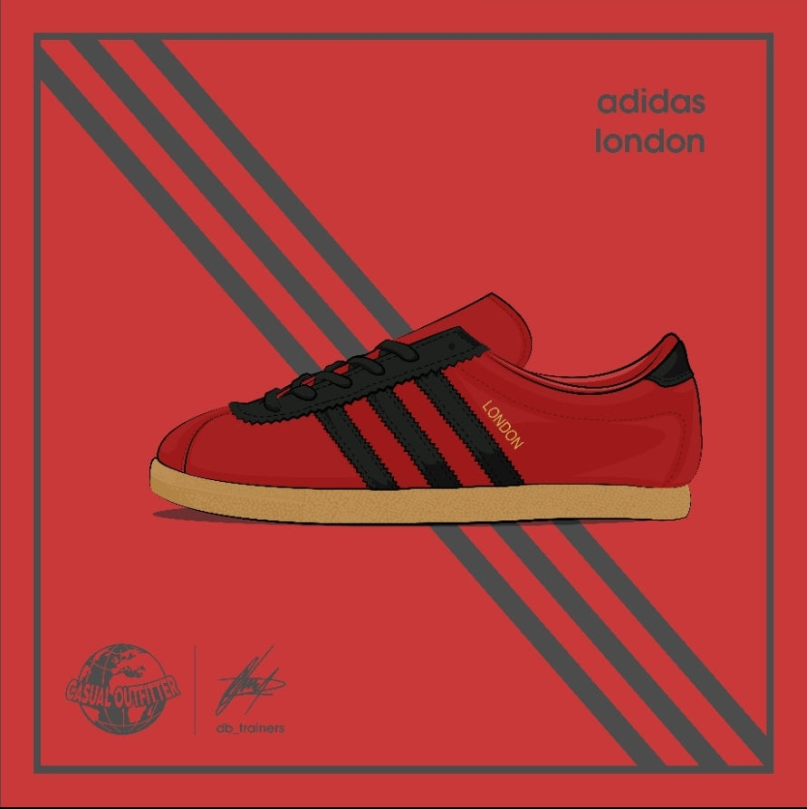 Adidas Inspired London Print | The Co x DB_Trainers
