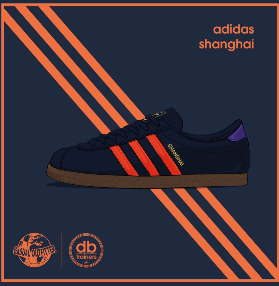 Adidas Inspired Shanghai Print | The Co x DB_Trainers