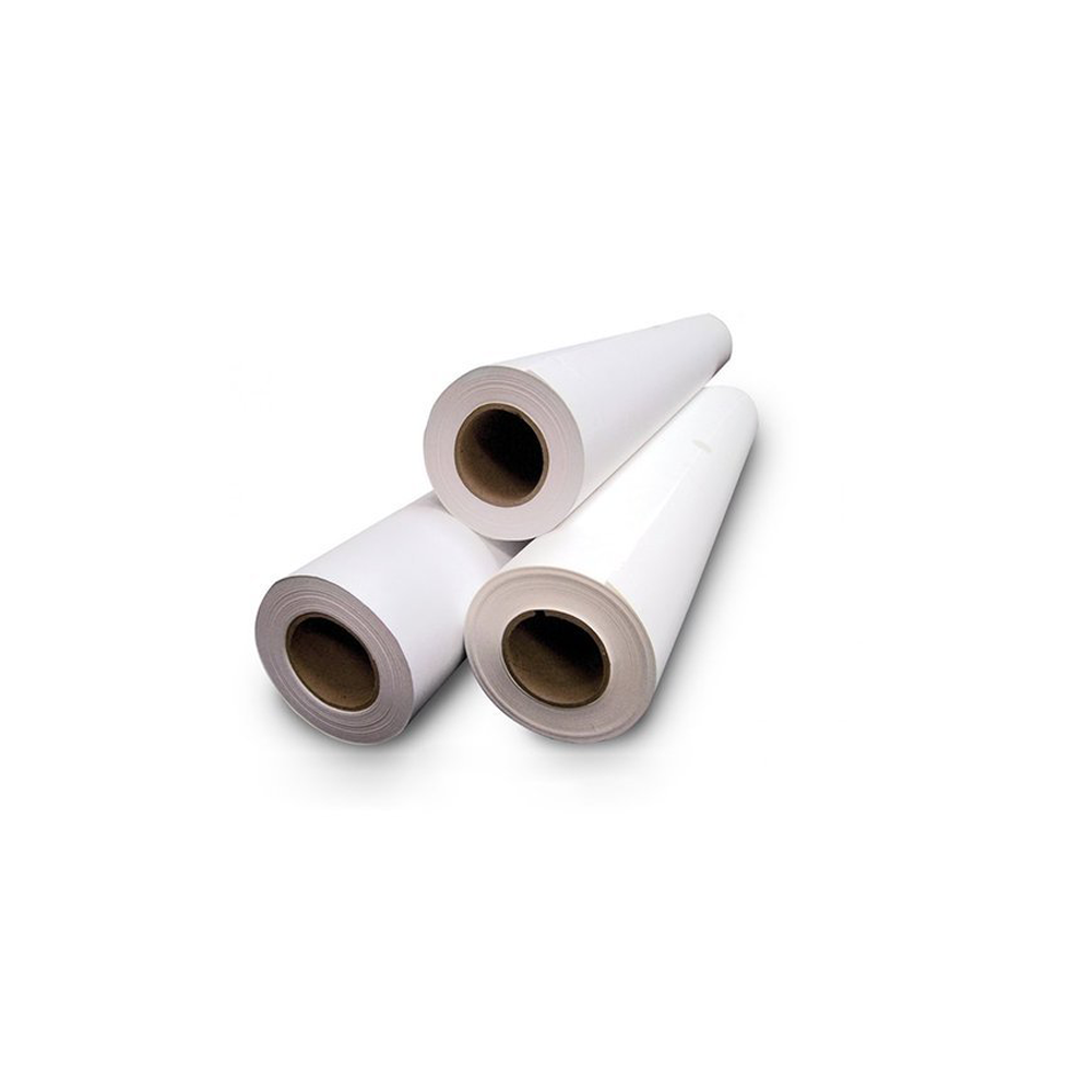 Three larger plotter rolls